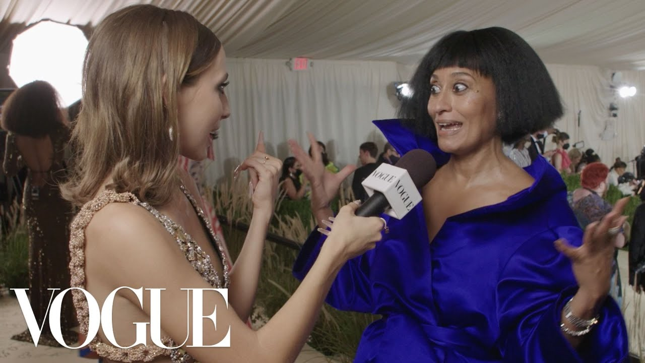 Tracee Ellis Ross Gives Met Gala Advice | Met Gala 2021 With Emma Chamberlain | Vogue