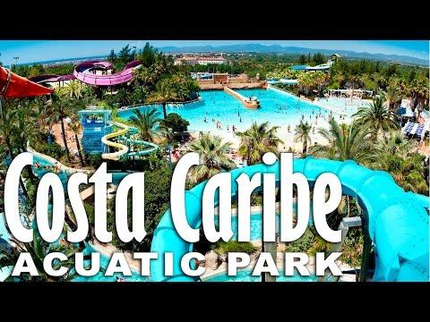 """Аквапарк """"Costa Caribe"""" Испания. Port Aventura."""