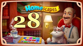 HomeScapes level 28