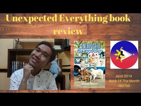 Unexpected Everything (The) by Morgan Matson book review | FILBORGS April 2019 BOTM