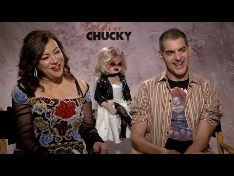 """BGN Interview:  Valerie chats with Jennifer Tilly and Director Don Mancini of """"Cult of Chucky"""""""
