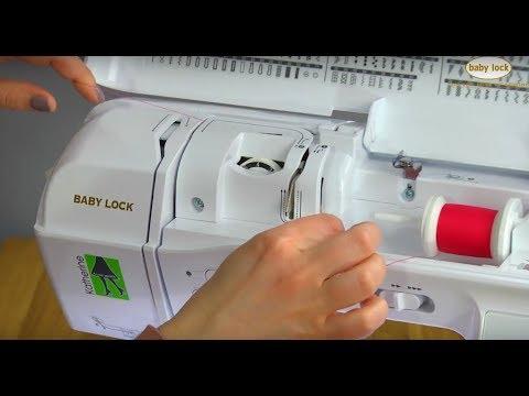 Easy Threading On Baby Lock Katherine YouTube Classy Katherine Sewing Machine