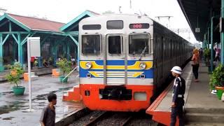 Stasiun Manggarai di malam hari 夕方のジャカルタ・マンガライ駅