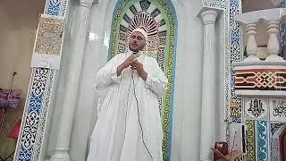 خطبة عيد الفطر من مجمع الايمان الكبير بدقميرة أداء الشيخ يوسف وافي