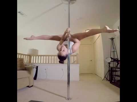 Scarlet pole dancing to Cold Jorge Mendez