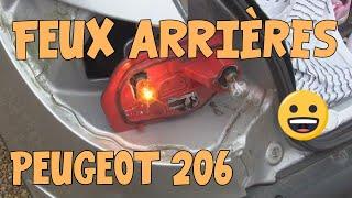 Tutoriel 206 #04 Problèmes de feux AR