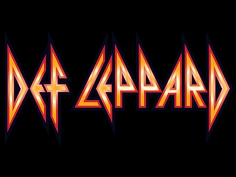 Def Leppard  Let It Go Lyrics on screen