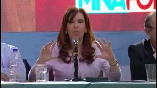 Discurso de Cristina Kirchner - Homenaje a Yrigoyen, Atlanta, 6 de octubre 2016