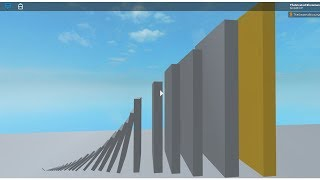Roblox Dominoes Small to Big