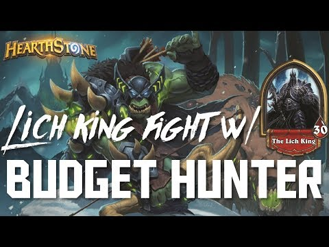 Lich King - Budget Hunter (Adventure Deck Spotlight)