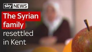 The Syrian family resettled in Kent