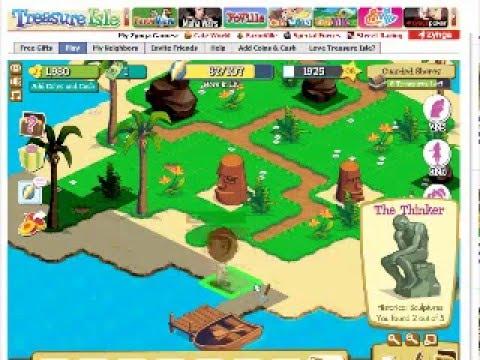 FaceBook: Treasure Isle Gameplay - YouTube