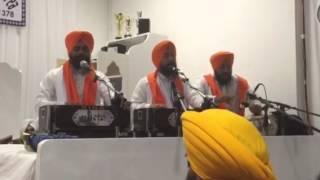 Bhai Baldev Singh ji wadala at italy Gurdwara Baba Makhan Shah Lobana Borgo San Giacomo