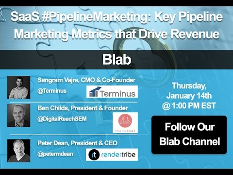 Key Pipeline Marketing Metrics That Drive Revenue (SaaS #PipelineMarketing Blab)