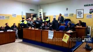 Siniscola. Assemblea appalto rifiuti del 24 marzo, il video della protesta degli occupanti