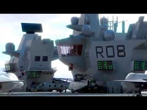 HMS Queen Elizabeth Class Aircraft Carriers CGI Animated Movie