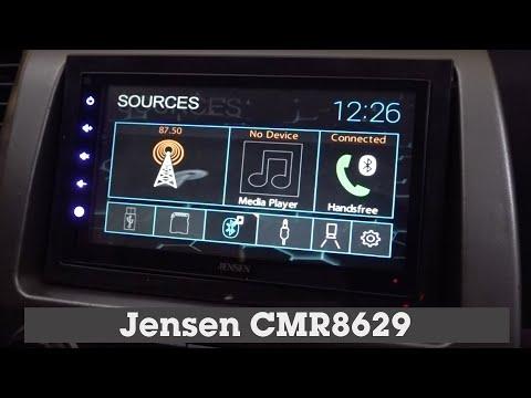 Jensen CMR8629 Display And Controls Demo | Crutchfield Video