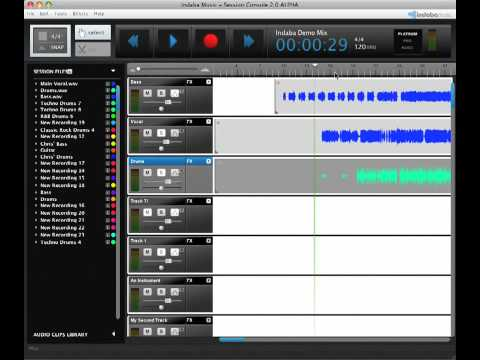 Indaba Music Console 2.0 Feature Overview