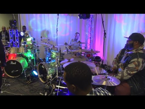 "Clips from Mega Drum Shed ""Rex Hardy Jr""-""Lil Man""-""Lawrence C Jones"" - ""Tuff"""