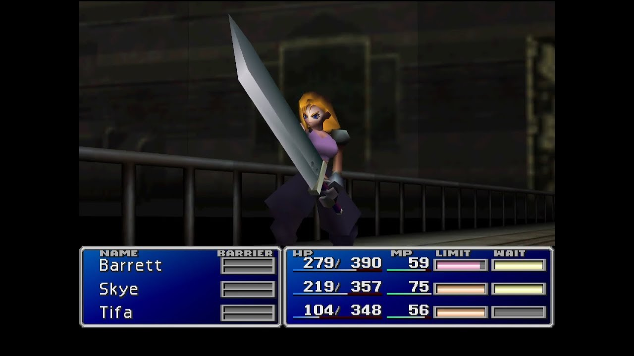 Skye Mod - Female Cloud Character Replacement Mod for FF7 PC v0 91  (download link in description)