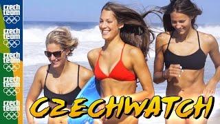 BAYWATCH po česku! Pláže v Riu hlídají olympijští plavci | Rio 2016