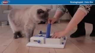 TRIXIE Cat Activity Strategiespiel Poker Box Интерактивная игрушка для кошек