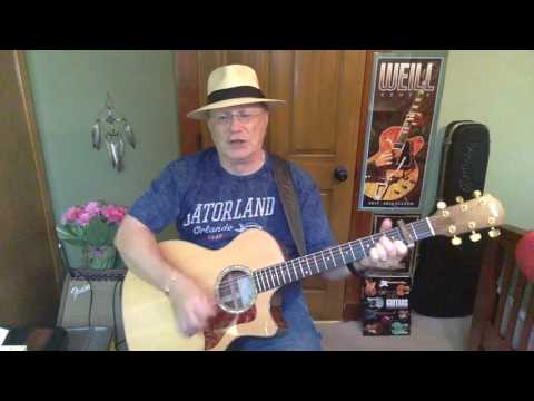 199b -  So Long Marianne -  Leonard Cohen vocal & acoustic guitar cover & chords