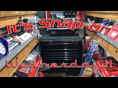 Snap-on Wednesday - New Tools And Jesse Buys A New Box!