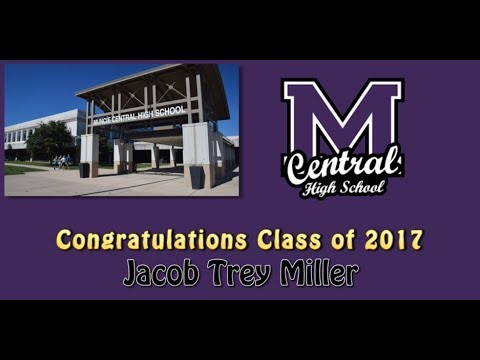 Muncie Central High School Class of 2017 Jacob Trey Miller
