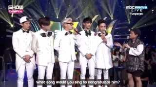 [ENG] 150812 SHINee Interview + Encore Stage - Show Champion