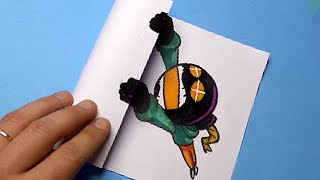5 AWESOME & FUNNY FRIDAY NIGHT FUNKIN' FNF Creation PAPER CRAFTS TO DO AT HOME