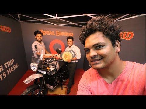 TAKING DELIVERY OF NEW ROYAL ENFIELD HIMALAYAN SLEET ABS  | DREAM COME TRUE