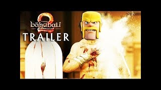Bahubali 2 clash of clans version hindi || Bahubali 2 || The conclusion || Clash of clans