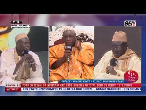 El Hadj Mansour, Doudou K Mbaye et Oustaz Khalifa Mbaye en direct