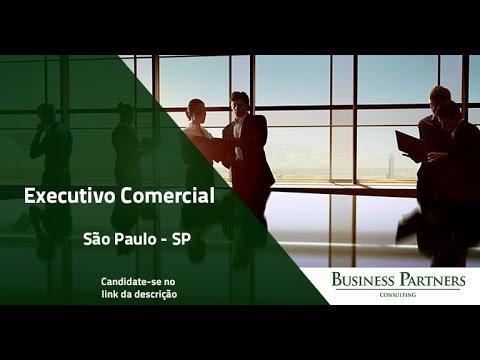 Vaga - Executivo Comercial - Grande São Paulo