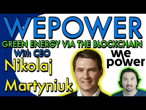 WePower. Interview with CEO Nikolaj Martyniuk by BCB. WEPOWE