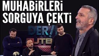 Abdülkerim Durmaz çıldırdı! Beşiktaşlı muhabirleri sorguya çekti