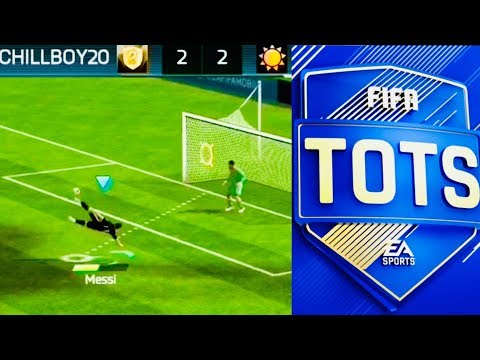 HOW TO SCORE CORNERS IN NEW HARD FIFA MOBILE  - Messi BiCycle Kick / TOTS ANNOUNCEMENT