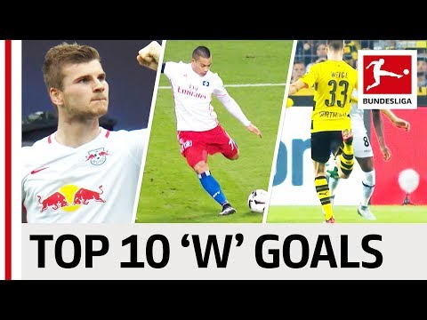 """Wood, Werner  & Weigl - Top 10 Goals - Players With """"W"""""""