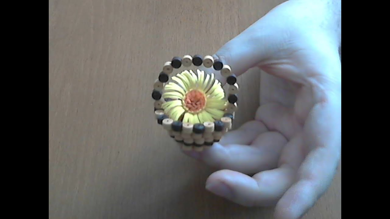 How to make 3d quilling basket - YouTube for Paper Quilling Flower Basket 3d  54lyp