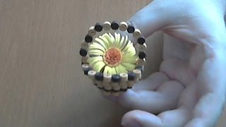 How to make 3d quilling basket