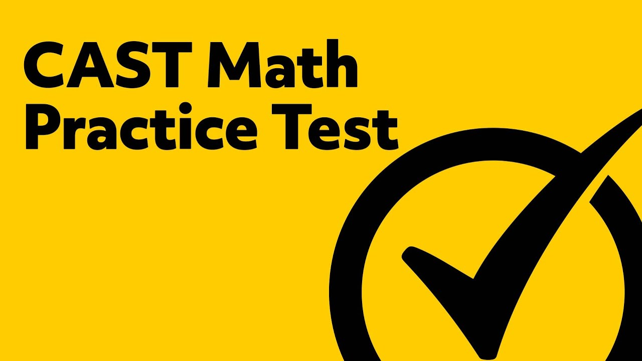Free CAST Math Practice Test - YouTube