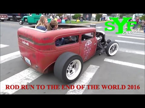 Rod Run to the End of the World 2016 Long Beach WA.