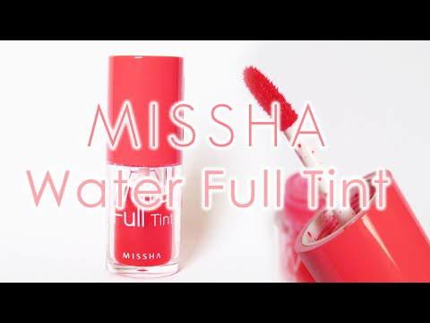 MISSHA Water Full Tint Review