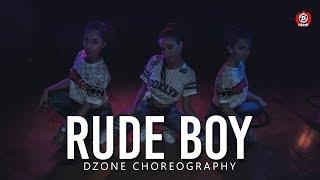Rihanna - Rude Boy | Dance Choreography | Anitha A.k.a Miss Dzone | Dzone Crew | Puttur - Karnataka