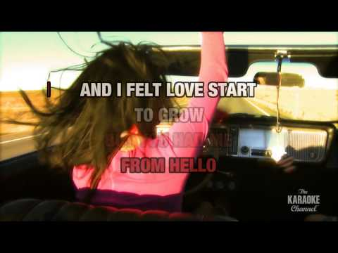 You Had Me From Hello : Kenny Chesney | Karaoke with Lyrics