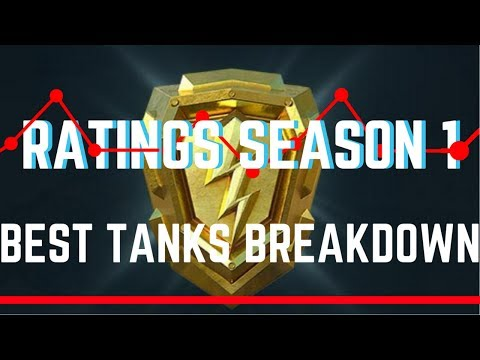 Best Tanks For Ratings Season 1 World of Tanks Blitz
