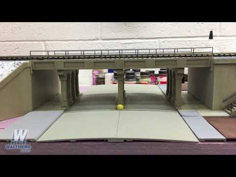Walthers Update 89 –New Walthers Cornerstone® Urban Overpass & Commuter Station Kits