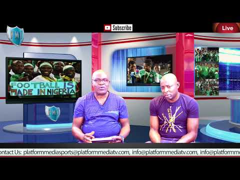 Nigeria  vs Zambia FIFA  WORLD CUP  2018  on by Platform Media SPORTS