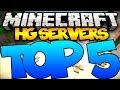 Top 5 Minecraft Hunger Games Servers